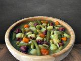 Grüne Bohnensuppe im Schlauch ca. 10 Portionen